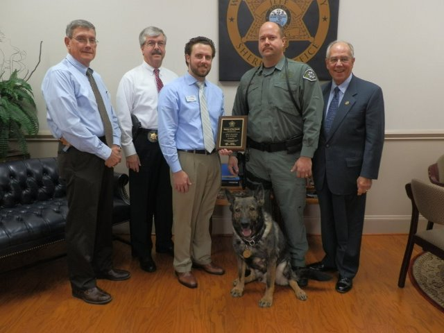Lexer the Dog Deputies of the Month Nov 2014